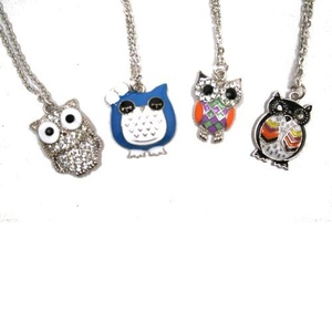 Give A Hoot Owl Necklace by DM Merchandising