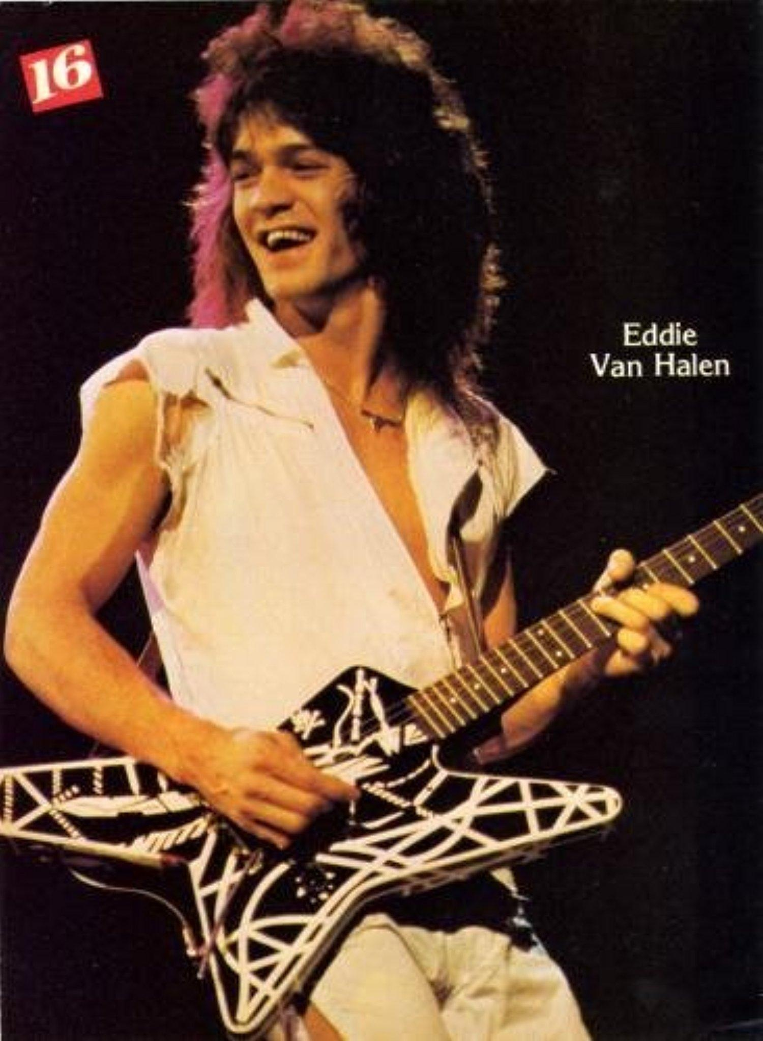 Online Store: Eddie Van Halen 80\'S Photo #01b Movie Poster Home ...