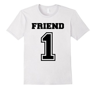 Men's friend 1 shirt 3XL White