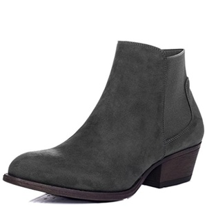 SPYLOVEBUY BELLA Women's Block Heel Chelsea Ankle Boots