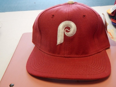 Philadelphia PhilliesFitted Baseball Hat By Sports Specialties Size 6 3/4