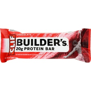 2Pack! Clif Bar Builder Bar - Chocolate - Case of 12 - 2.4 oz