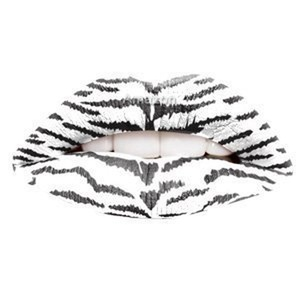 Passion Lips Temporary Lip Tattoo Wraps Includes 2 Applications - White Tiger by Passion Lips