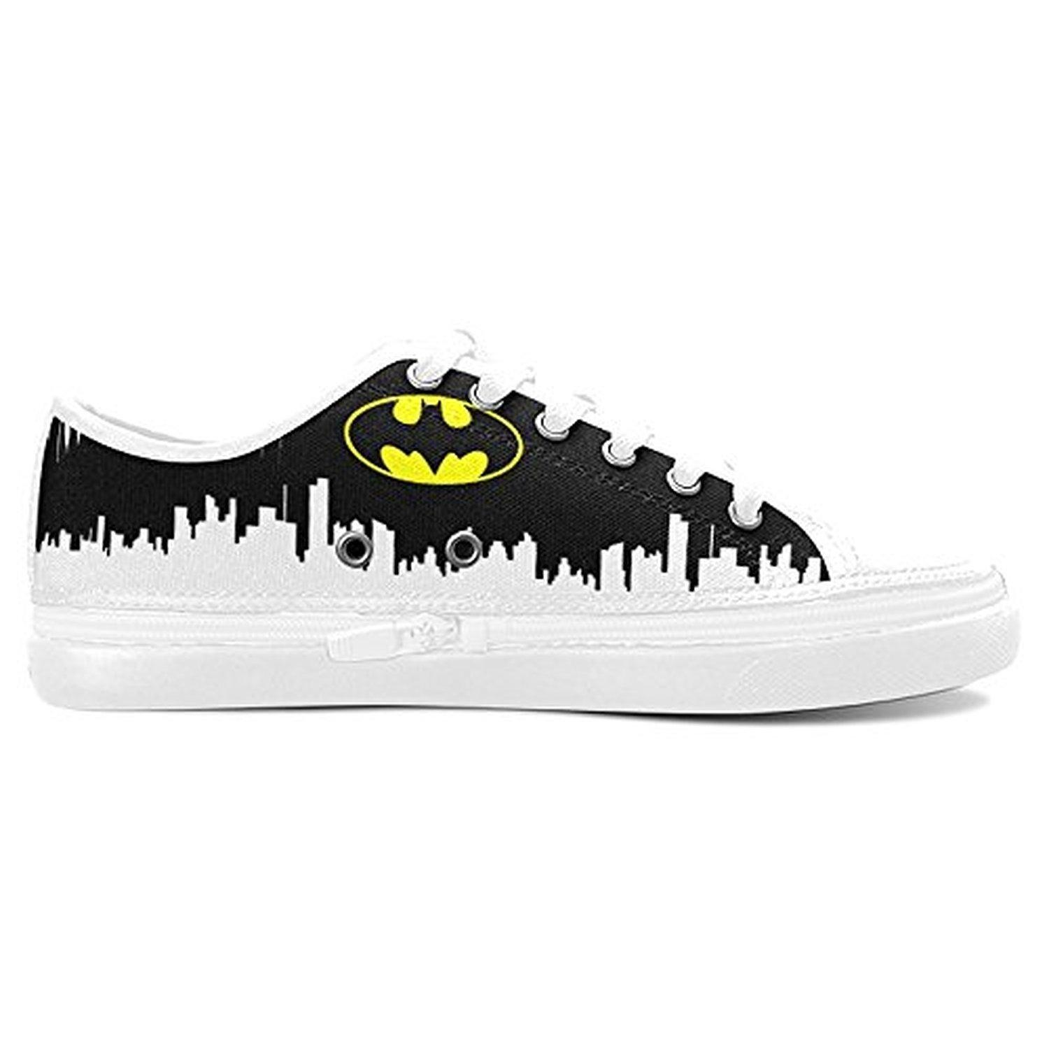 H-ome Art My Chemical Romance Band Custom Women's Nonslip Zippered Black Canvas Shoes Sneakers