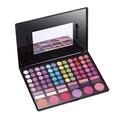 Maùve 78 Pro Warm Colors Matte Shimmer Eyeshadow Palette Cosmetic Makeup Brush MU07