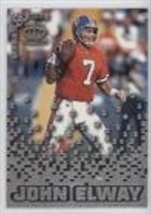 John Elway (Football Card) 1995 Pacific Triple Folders Rookies & Stars Silver #RS-13