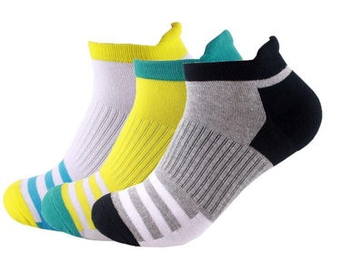 E-SideStep Elite Merino+ Light Cushion No Show Tab Socks-3PACK