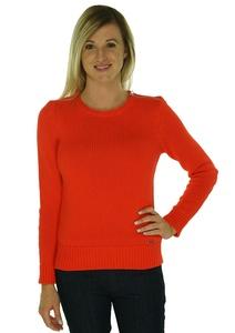 Lauren Ralph Lauren Womens Medium Turtleneck Sweater Orange M