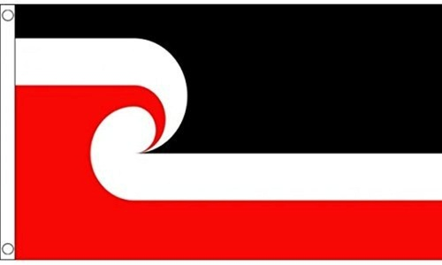 New Zealand Maori 3' X 2' 3ft x 2ft Flag With Eyelets Premium Quality by 3Ft x 2Ft Flag
