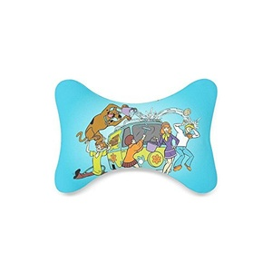 scooby doo Custom Car-Seat Neck Pillow Travel Pillow Neck Rest Cushion (Only One)