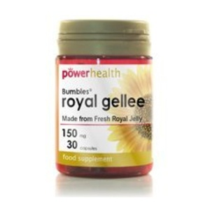 Power Health 150mg Bumbles Royal Gellee - Pack of 30 Capsules by Power Health