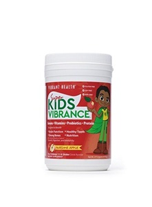 Vibrant Health Green Vibrance Junior for Kids (238g, Gluten Free, Green Apple Flavour) by Vibrant Health