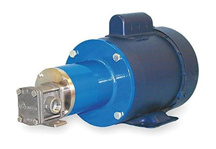 Oberdorfer Pumps - RM10316CWM1-F50 - Rotary Gear Pump, 110 psi, 316 Stainless Steel, 1/3 HP, 1 Phase