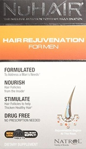 NuHair for Men - Pack of 60 Tablets by Nu-Hair
