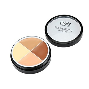 MENOW Professional Makeup 4 Color Foundation Face Concealer Cream by Menow