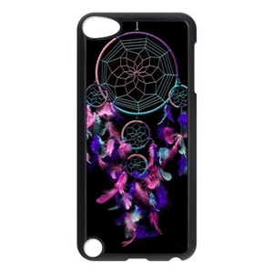 iPod 5 Cases - Dream Catcher Protective Case Cover Skin for iPod Touch 5th Generation,iPod Touch 5 Case,Screen Protector for iPod Touch 5/5th Generation (Black/White)