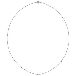 14kt White 1/4 CTW Diamond Bezel 24
