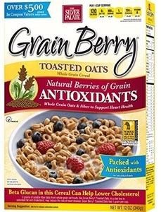 Grain Berry Toasted Oats , 12 Ounce by Grain Berry