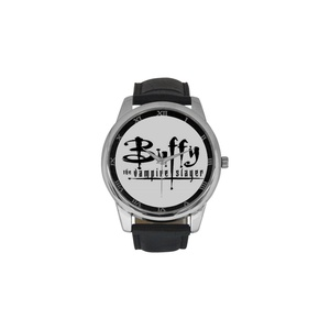 Buffy The Vampire Slayer DBLN528 Men Wrist Watches Leather Strap Large Dial Watch