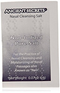 Ancient Secrets Nasal Cleansing Pot Salt (Pack of 40) by Ancient Secrets