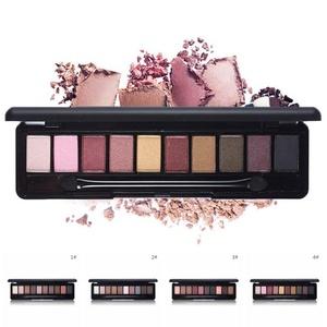 HUBEE 10 Colors Pro Glitter Eyeshadow Nude Eyeshadow Palette Makeup Matte Eye Shadow