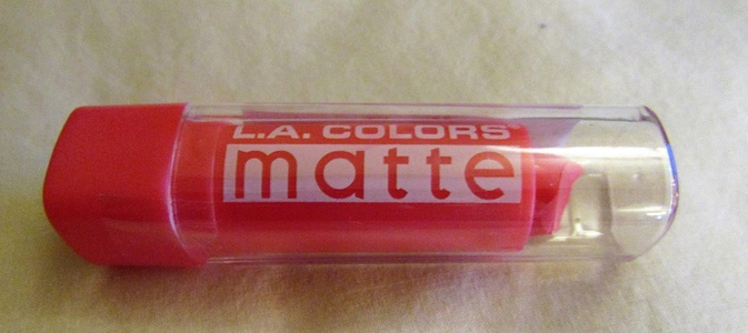 L.A. LA Colors Matte Lipstick Lip Makeup (ENDLESS SUMMER) CML517