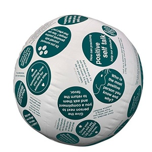 Toss 'n Talk-About Positive Attitude Ball by S&S