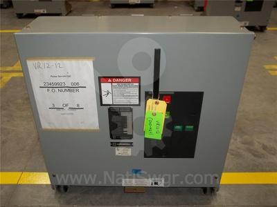 V5D7133Y000 - 1200A SQD VAD-5 VR V5D7133Y000, 15KV, 750MVA UNUSED SURPLUS