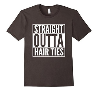 Men's STRAIGHT OUTTA HAIR TIES  3XL Asphalt