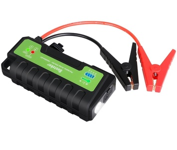 Car Jump Starter, GangXun 700A Peak Portable Multi-functional Emergency Car Jump Starters Power Bank Battery Booster with 16000mAh External Battery Charger