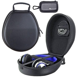 JHGJ Hard Carrying Headphones Case for Audio-Technica ATH-M70x M50x M50 M40x M30 M30x M20x Headset Headphone and SUIFN Case