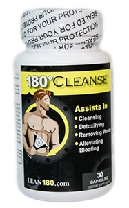 Lean 180 Fitness, Weight Loss And Nutrition Cleanse - All Natural Weight Loss Supplement, Detoxify And Cleanse Your Body (30 Capsules) by Lean 180 Fitness, Weight Loss and Nutrition