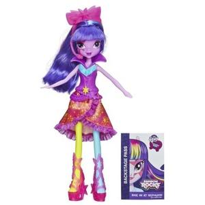My Little Pony Equestria Girls Rainbow Rocks - Twilight Sparkle Doll (Neon Rainbow Rocks) by My Little Pony Equestria Girls
