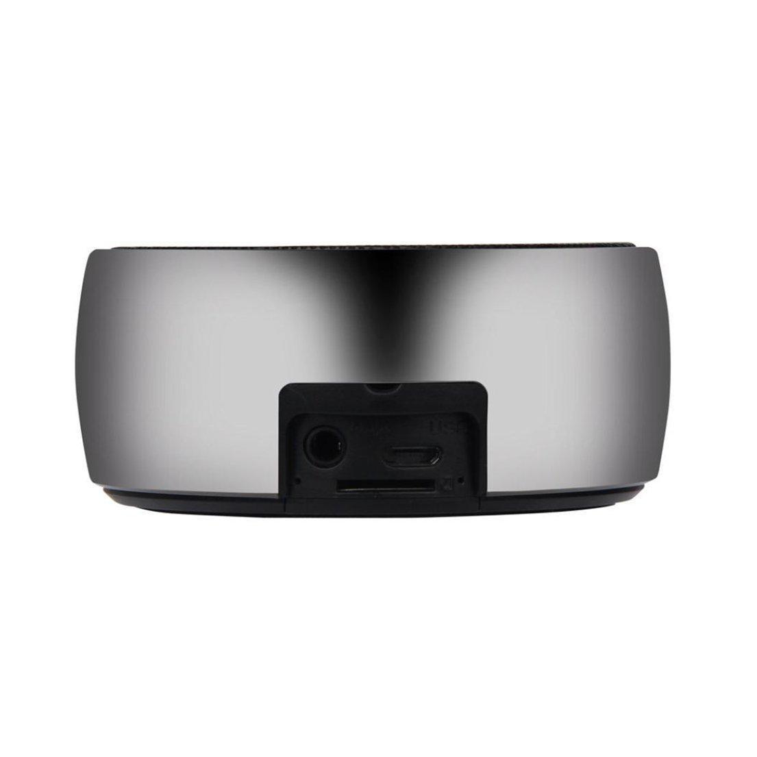 Alonea Portable Mini Speaker Super Bass Hifi Stereo Wireless Bluetooth Subwoofer (Black)