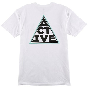 Active R/S Loaded T-Shirt in White - XL