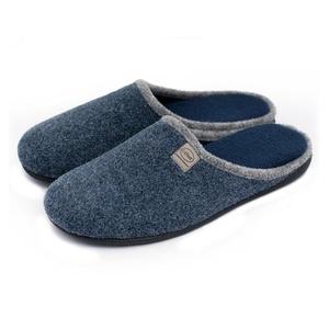 Unisex Slip on Slippers Happy Lily Antislip Sandal Memory Foam Mules Woollen Fabrics Shoes for Men's Size - PERFECT XMAS GIFT