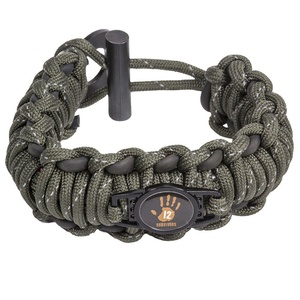 12 Survivors Paracord Survival Band
