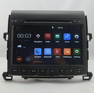 Quad-core 1024600 HD screen Android 5.1 Car DVD GPS Navigation for Toyota Alphard Vellfire 2008-2014