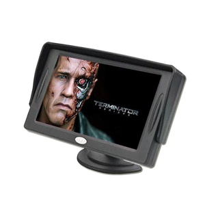 GenLed 4.3 Inch TFT LCD Car Color Rear View Monitor Screen for Parking Rear View Backup Camera