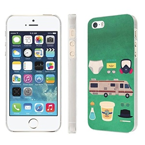 iPhone [SE/5/5S] Phone Case [NakedShield] [Clear] Ultra-Slim Jacket Cover Case - [Meth Kit] for iPhone [SE/5/5S]