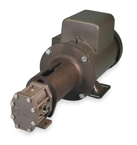 Oberdorfer Pumps - S21016CAC1-N47 - Rotary Gear Pump, 110 psi, 316 Stainless Steel, 1 HP, 1 Phase