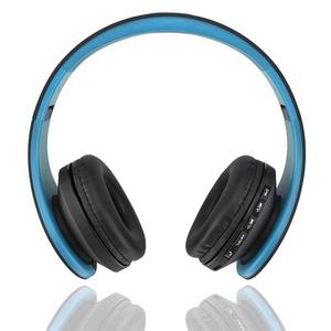 ESHOWEE Wireless Bluetooth Headset BH-811 Card Radio Bluetooth Stereo Headphone (BL)