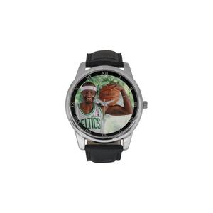 Boston Celtics Basketball DBLN388 Men Wrist Watches Leather Strap Large Dial Watch