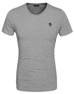 COOFANDY Men Fashion Casual Round Neck Short Sleeve Solid Cotton Basic T Shirt Tops