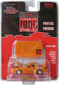 Racing Champions Mint - True Value - Iroc Series - Orange '96 Pontiac Firebird