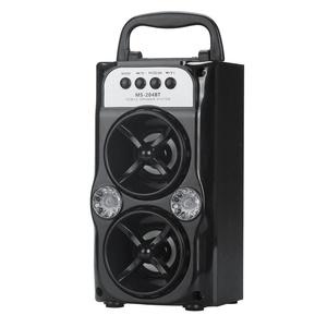Bluetooth Speaker, ZYooh Double Horn Multimedia Bluetooth Wireless Portable Speaker Super Bass with USB/TF/AUX/FM Radio wireless speaker wireless bluetooth speaker stereo speaker