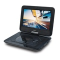 SYNAGY A30 10.1inch Portable DVD Player CD Player with Swivel Screen & Car Charger, Black