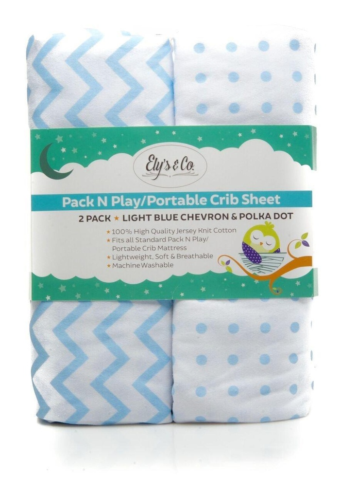 online store pack n play portable crib mini crib sheet set 100 jersey cotton for baby boy by. Black Bedroom Furniture Sets. Home Design Ideas