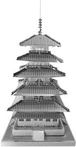Metallic Nanopuzzle Five Storeyed Pagoda Tmn-18 by Metallic Nano Puzzle