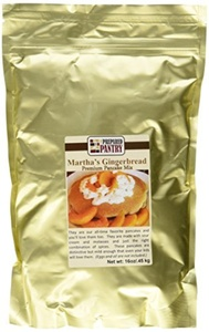 The Prepared Pantry Martha's Gingerbread Pounder Pancake Mix, 16 Ounce by The Prepared Pantry